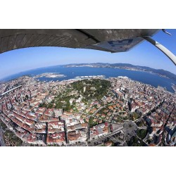 Vista aerea de Vigo
